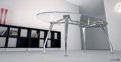 Image result for oval glass office desk