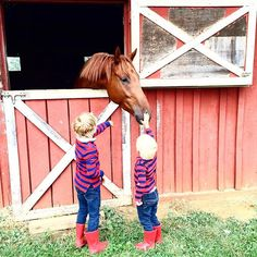 Barn days are the BEST days!    @laviedethree