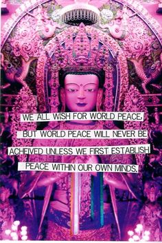 #Quote – We All Wish For World Peace