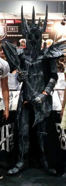 Picture of Sauron Armour Cosplay!