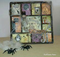 Dreams, Life and Scrap: Una cornice per Halloween