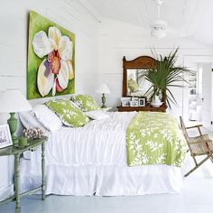 White and Bright - 10 Best Bedroom Makeovers - Coastal Living