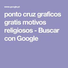 ponto cruz graficos gratis motivos religiosos - Buscar con Google