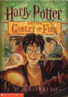 Rowling: Harry Potter and the Goblet of FireJ. Rowling: Harry Potter and the Goblet of Fire Harry Potter Book 4, Harry Potter Goblet, Garri Potter, Hogwarts, Slytherin, Lord Voldemort, Goblet Of Fire Book, Ron Y Hermione, Draco Malfoy