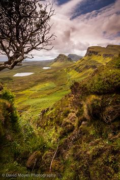 Dun Dubh and Cleat on the Trotternish Ridge, Isle of Skye