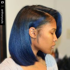#Repost @anthonycuts with @repostapp. ・・・ From red to blue using #olaplex !!!! CUSTOM COLORED OMBRE BY #THEANTHONYAFFECT