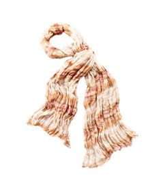 Watercolor Stripe Scarf by Loft, $35, #dailyfinds