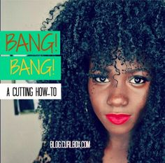 On the blog! Some amazing bangs have popped up on our show-off page and we perused Youtube for a few videos that perfectly illustrate how to create fantastic bangs at home.  Check out our faves here: http://blog.curlbox.com/2015/04/20/bang-bang-a-cutting-how-to/