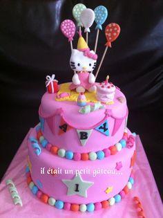 Hello kitty party cake gâteau hello kitty