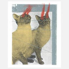 Lazer Cats, $22, now featured on Fab.