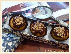 Mini Cupcakes De Galleta Y Chocolate Crocanti