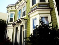 1880's Victorian Home in San Francisco. Yep, I used to live in my dream doll house.