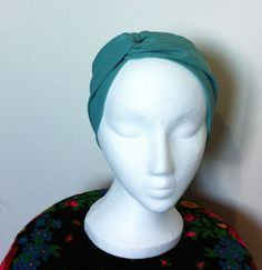 Twisted headband boho chic  by TAMAR LANDAU, $23.00 #modest chic #modest fashion #modest head cover #turban
