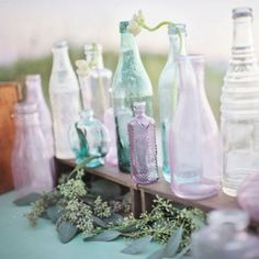 Lavender and mint--the perfect color palette for a summer wedding! (via love and lavender)