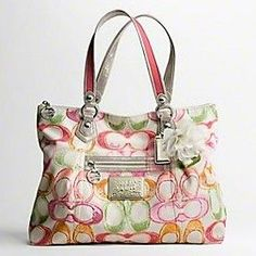 My favorite purse (Coach Poppy Dream C) it was a great early b-day gift to  myself. Love This! e358a7f2ace2d