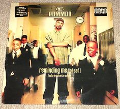 """#Common ft Chantay Savage Reminding Me (Of Sef) / #UsedToLoveHER 12"""" #Vinyl #uniqbeats #hiphop #ebay"""