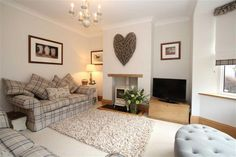 3 bedroom semi-detached house for sale in High Startforth, Barnard Castle, County Durham - Rightmove Photos Cottage Living Rooms, New Living Room, Living Room Modern, Home And Living, Living Room Designs, Cosy Living Room Decor, Log Burner Living Room, Cosy Home Decor, Modern Wall