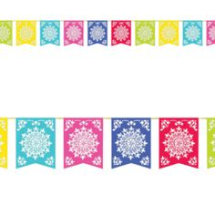 Mexican Fiesta Bunting Flag Banner