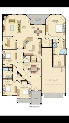 13809 Creekmill Court Rosharon TX 77583 was recently sold. Sims House Plans, Pole Barn House Plans, House Layout Plans, Pole Barn Homes, Best House Plans, Dream House Plans, House Layouts, House Floor Plans, Building Plans