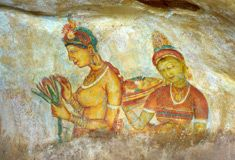 Sri Lankan Rock Paintings
