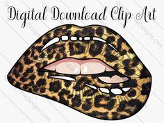 Tatto Lips, Tooth Tattoo, Dripping Lips, Drip Art, Brown Leopard, Cheetah, Pop Art Wallpaper, Blue Lips, Fashion Artwork