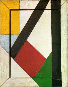 Love how this is rustic, but clean and modern. An aesthetic to aspire to! Composition - Theo van Doesburg