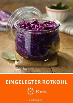 Pickled red cabbage – Famous Last Words Pickled Red Cabbage, Salty Foods, Family Kitchen, Plant Based Recipes, Pickles, Food And Drink, Pudding, Homemade, Vegetables