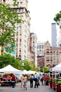 New York City Boroughs ~ Manhattan | Union Square Greenmarket