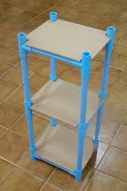 Pvc water pipe nightstand/shelves pvc pipe projects, home projects, craft projects, Pvc Pipe Crafts, Pvc Pipe Projects, Diy Projects Cans, Diy Pipe, Home Projects, Home Crafts, Diy Home Decor, Craft Projects, Pvc Pipe Furniture