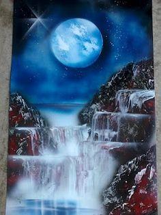 Artist- Rochelle Midro  Fast Spray Paint Art
