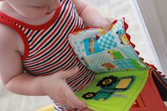 See this book? You can make it! Crinkly, soft and colorful. All the things that…