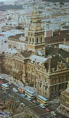 City Hall Cape Town, South Africa 1950's