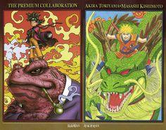 Collaboration Akira Toriyama x Masashi Kishimoto