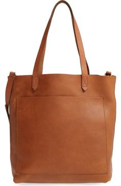 Madewell Medium Leather Transport Tote available at #Nordstrom