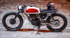 "Honda CG 125 Cafe Racer ""Project 23"" by Lucky Custom - Lsr Bikes"