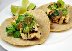 SaucySuperBowl Fish Tacos by littleferrarokitchen http://littleferrarokitchen.com/2012/02/saucysuperbowl-fish-tacos-for-sundaysupper-and-other-awesome-eats/  #Tacos #Fish