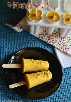 Kesar Badam Kulfi Recipe with step by step pictures. Kulfi is a frozen creamy dessert with milk and nuts as base.There are different types of Kulfi Recipes, I have already posted basic kulfi /malai kulfi and mango kulfi  recipes so this is another take to the basic kulfi recipe. According to Wikipedia : Kulfi was traditionally prepared...Read More »