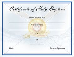 Baptism certificate templates certificate template pinterest download free or premium version no registrations instant download premium version has no free certificate templatesfree printable yadclub Gallery