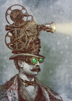 The Projectionist by Eric Fan