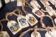 Harry potter escort cards