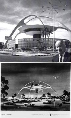Los Angeles International Airport, Architect Paul Revere Williams