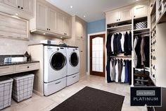 Small laundry room design ideas will assist you to appreciate the area around your washing machine as well as clothes dryer. Discover the most effective ideas for 2018 and change your laundry room design Mudroom Laundry Room, Small Laundry Rooms, Laundry Room Organization, Organization Ideas, Storage Ideas, Laundry Area, Bathroom Laundry, Laundry Cupboard, Laundry Baskets