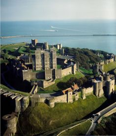 Dover Castle, England - I visited my aunt and uncle who were caretakers of the castle. Wonderful Places, Great Places, Places To See, Beautiful Places, Kent England, Dover England, Visit England, Dover Castle, English Castles