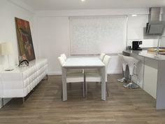 #Comedor #Cocina #moderno #decoracion via @planreforma #sillas #encimeras #mesas de comedor #mobiliario de cocina #taburetes #electrodomesticos