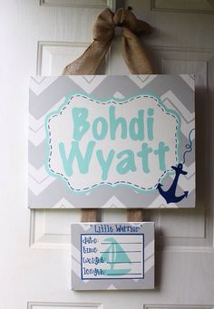 Hospital door wreaths on pinterest hospital door for Baby boy door decoration