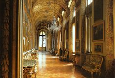 First Aisle at doria pamphilj gallery rome - Google Search