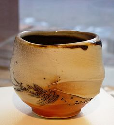 Frank Boyden and Tom Coleman, teabowl - clay