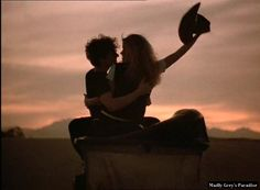 """You know it's love when you ride off into the sunset on a lawnmower...  """"Can't Buy Me Love""""  ^,^"""