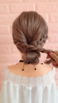 In 2019 Braid hairstyle has always been a symbol of beauty. And no matter, short [& The post 20 Braid Hairstyles Tutorials in 2019 appeared first on Trending Hair styles. Braided Hairstyles Tutorials, Pretty Hairstyles, Easy Hairstyles, Girl Hairstyles, Long Hair Tutorials, Braided Hairstyles For Short Hair, Easy Wedding Hairstyles, Simple Hairstyles For Long Hair, Easy Updos For Medium Hair