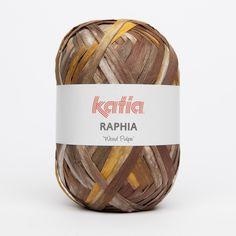 Pelote de Raphia Wood Pulpe - Katia - Sperenza Laine, boutique de laines et articles de mercerie